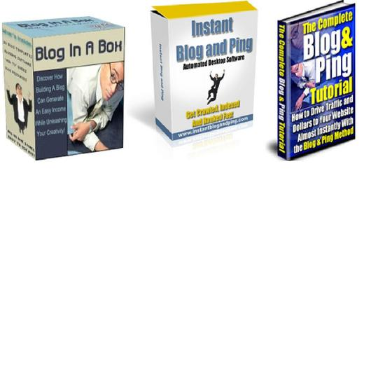 Product picture *BEST VALUE* 3-in-1 Blogging Software Package $7 w/ Master Resell Rights!